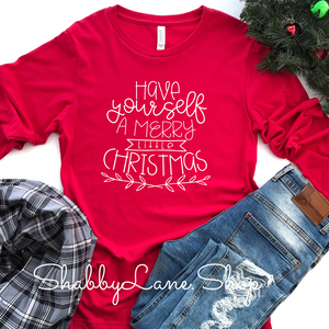 Have yourself a merry little Christmas - red long sleeve
