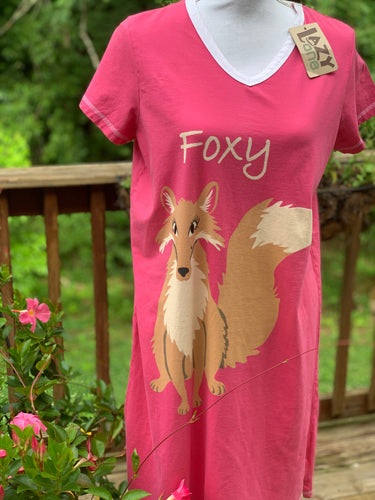 Lazy One Gown - Foxy