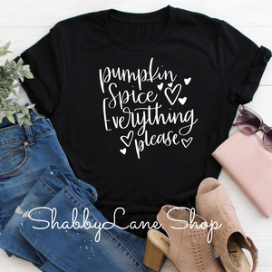 Pumpkin spice everything ! Black