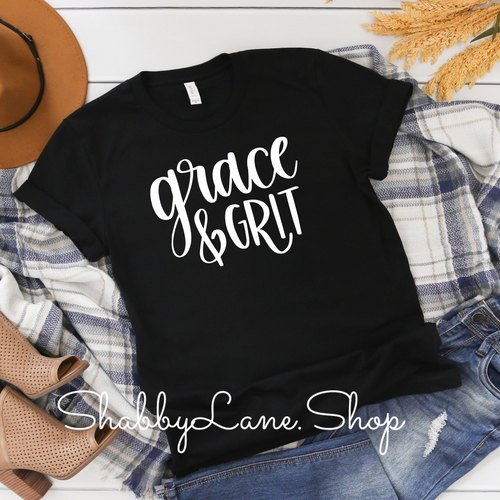 Grace  and Grit t-shirt - Black