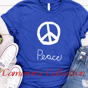 Peace - Cameron Collection Royal Blue