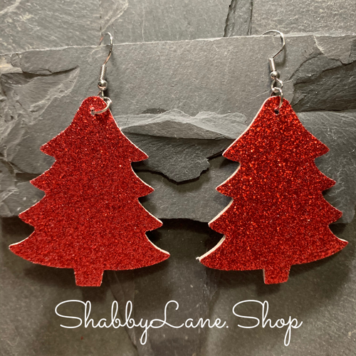 Holiday earring glitter tree- style 7