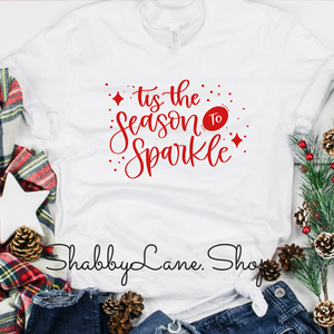 'Tis the season to sparkle - white