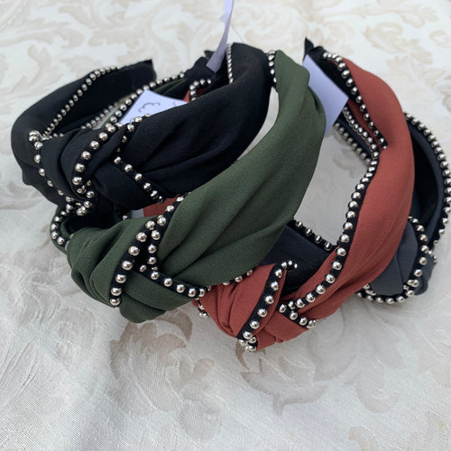 Beautiful studded headband