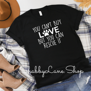 You can't buy love - rescue - Black