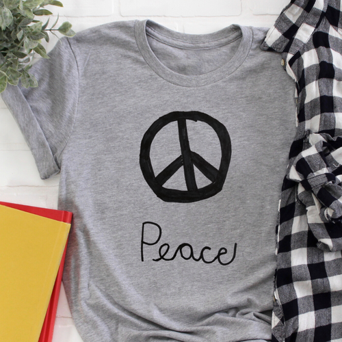 Peace - Cameron Collection Grey