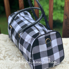 Load image into Gallery viewer, Gorgeous weekender buffalo plaid barrel style