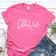 All about that beach life - Pink T-shirt