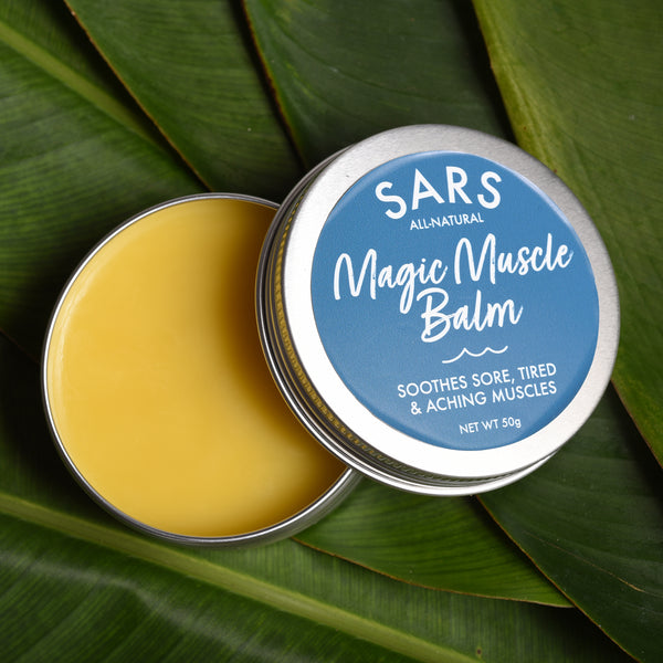 Sars Magic Muscle Balm - Natural Muscle Balm to soothe aching muscles