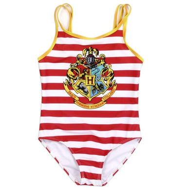 Harry Potter Hogwarts Girls One Piece Swimsuit Bathing Suit Summer Beach Wear