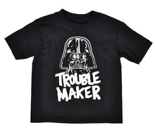Star Wars Toddler Darth Vader Trouble Maker T-Shirt, Black