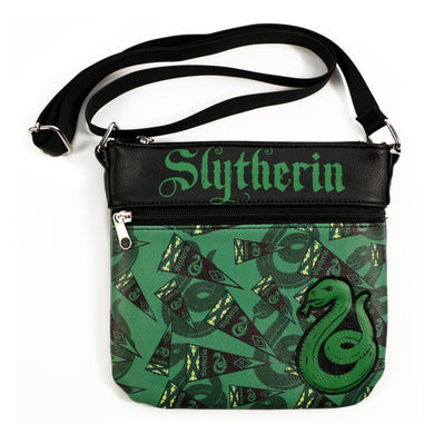 Harry Potter Hogwarts Slytherin Cross-Body Bag Purse by Loungefly - Limited Edition