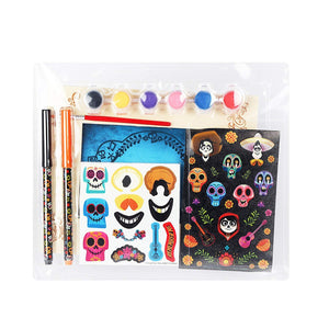 Disney-Pixar Coco Make Your Own Picture Frame Kit with Wooden Frame, Paints, Stickers