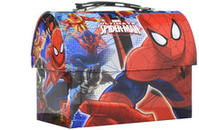 Marvel Ultimate Spider-Man Metal Workman Lunchbox/Utility Tin Carry-All