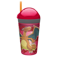 Pokemon Evee Zak Snak! 4oz Snack & 10oz Drink Tumbler All-in-One