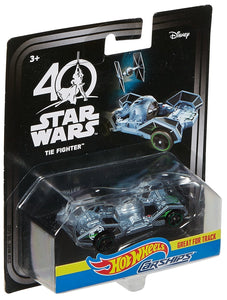 Hot Wheels Star Wars Carships 40th Anniversary Tie Fighter Vehicle
