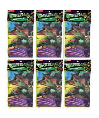 6-Pack Teenage Mutant Ninja Turtles Microfiber 12x12