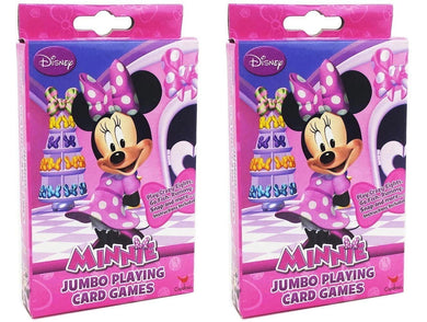 2-Pack Set Disney Minnie Mouse Jumbo Playing Cards
