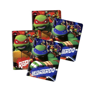 4e61495e020 4-Pack Teenage Mutant Ninja Turtles 50-Sheet Wide Ruled 1-Subject  Notebooks