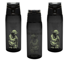 3-Pack Classic Star Wars Yoda 25oz Tritan Water Bottle with Flip-Top Cap, BPA-free