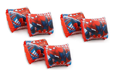 3-Pack Marvel Spider-Man Swimming Pool Inflatable Arm Floats Floaties