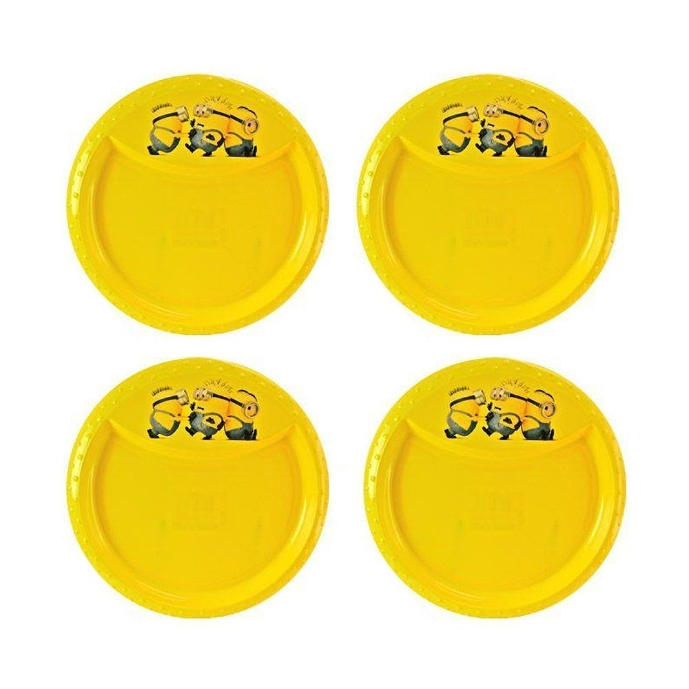 4-Pack Minions BPA-Free Plastic Reusable Kids 8.5
