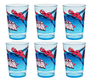 [6-Pack Set] Marvel's Spider-Man 14.5-oz SAN Tumbler Cups, Blue