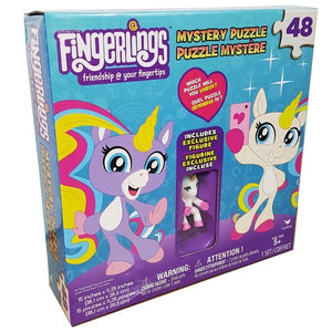 Fingerlings 48-pc Mystery Puzzle with Exclusive Unicorn Figure & Poster