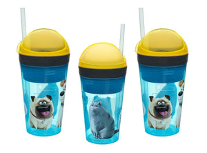 The Secret Life of Pets Zak! Snak! 2-in-1 4oz Snack Container & 10oz Drink Tumbler