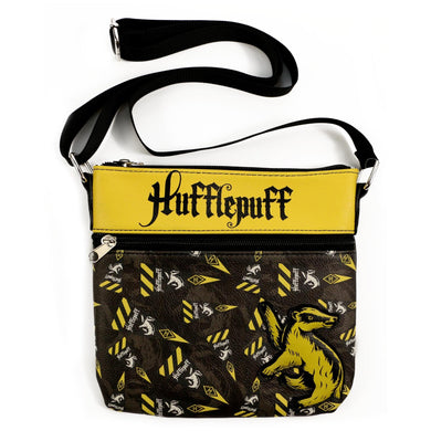 Harry Potter Hogwarts Hufflepuff Cross-Body Bag Purse by Loungefly - Limited Edition