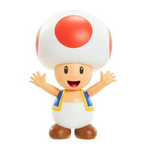 "World of Nintendo Super Mario Brothers ""Toad"" 2.5"" Mini Figure"