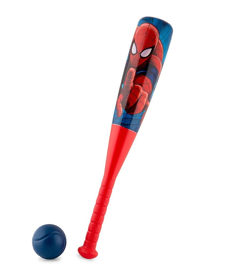 Marvel Spider-Man Kids' Plastic Baseball Bat & Ball Set - Outdoor fun!