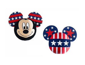 Disney Mickey Mouse American Pride Antenna Topper / Pencil Topper