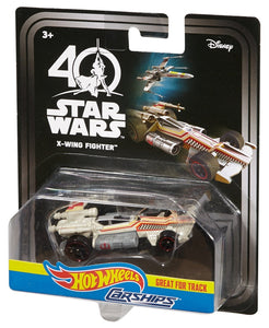 Hot Wheels Star Wars Carships 40th Anniversary X-Wing Fighter Vehicle