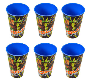 6-Pack Teenage Mutant Ninja Turtles 17oz Theatre Fun Reusable Tumbler Cups