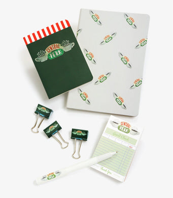 Friends Central Perk Stationary Journal Office Supplies 7-pc Gift Set