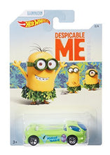 [Complete Set of 6] 2017 Hot Wheels Despicable Me Minion Made Movie Diecast Cars LE