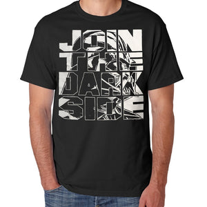 "Star Wars Darth Vader ""Join The Dark Side"" Men's Graphic T-Shirt, Black, Large"