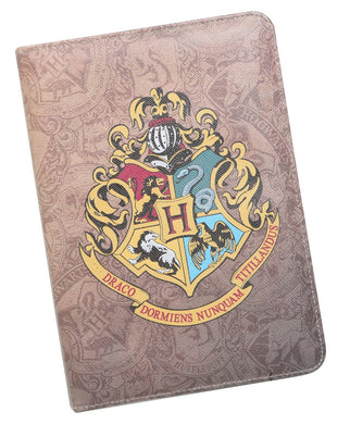 Hot Topic Harry Potter Hogwarts Crest Universal Tablet Case, Kindle, iPad Mini+