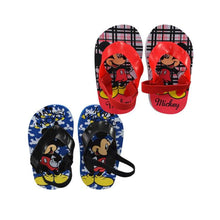 Disney Mickey Mouse Infant Baby Boys Beach Flip-Flop Sandals with Heel Strap