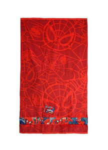 Jay Franco Marvel Spider-Man 28x50-inch Kids' Cotton Bath Towel, Red
