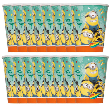 Despicable Me Minions 2-Pack Party 8ct 9-Ounce Paper Drinking Cups (16 Total)