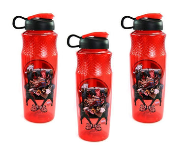 [3-Pack] Marvel's Deadpool 30oz Sullivan Sports Water Bottle, BPA-Free