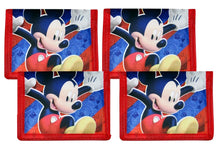 Disney Mickey Mouse Clubhouse Non-Woven Bi-Fold Kids Wallet, 4-Pack Party Favor Gift Set
