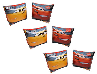 3-Pack Disney-Pixar Cars Swimming Pool Inflatable Arm Floats Floaties