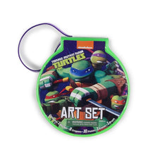 Teenage Mutant Ninja Turtles Take-Along Travel Art Set: Paints, Crayons, Markers