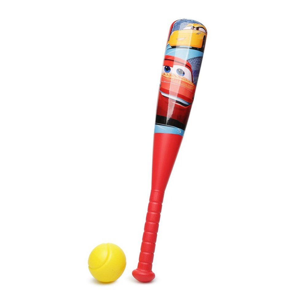 Disney-Pixar Cars Lightning McQueen Kids Baseball & Bat Set