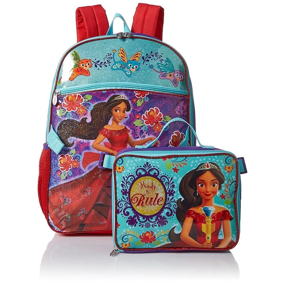 Disney Elena of Avalor Ready to Rule Backpack & Insulated Lunch Bag Box Set