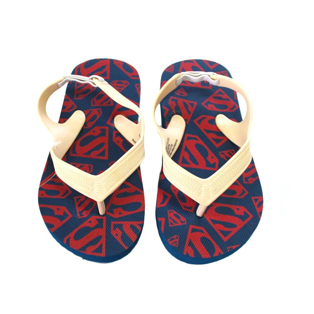 DC Comics Superman Symbols Toddler Boys Flip Flop Sandals by Old Navy, Small 7/8
