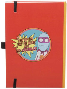 Rick and Morty Eyeholes Cereal Pen & Journal Stationary Gift Set